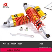 """11"""" Air Shock Absorbe GY6 Scooter Racing Rear Shock Absorber 125cc  150 cc  250 cc  Red"""