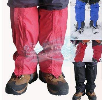 1 Pair Waterproof Hiking Walking Outdoor Climbing Hunting Snow Legging Gaiters