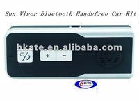 4pcs/lot free shipping  driver lover car/vehicle/ auto Sunvisor bluetooth handsfree car kit speaker phone smart talker ATM66
