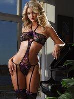 sexy underwear women one piece teddy lingeries Club service costume free shipping s68829