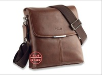 2012 business bag, fashion men shoulder bag,men  leather messenger bag,free shipping 3001-1