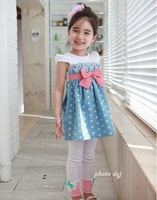 1pcs/lot Girls   Box little rose flower camisole dress free shipping