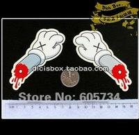 Free shipping wholesale DIY sticker cute fun sticker  Box Logo Sticker kid gift,skateboard sticker