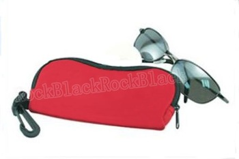 Rugged Durable  Neoprene Sunglasses  Storage Case with Zipper NSEYEGLSCASE03689
