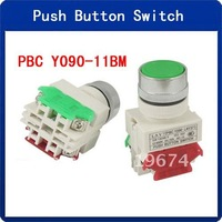 10pcs Industrial Momentary Type Green Push Button Switch