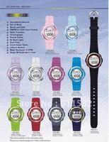 Model FD: LCD watch with EL light