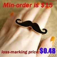 Товары для макияжа Popular Around The World Creative Waterproof Fingers Mustache Tattoo Stickers~TT_001