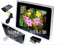 "12.1"" LCD Digital Photo Picture Frame    Music supported MP3/MP4/WMA, MEPG1/2(DIVX); Movie supported DAT/MPG/AVI"