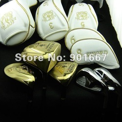 New Sword Sniper V Golf Club 1pc Driver+2pc Wood+5-9,PW,AW,SW 8pc Iron Tour AD vd-5r Shaft r/s Free Shipping(Hong Kong)