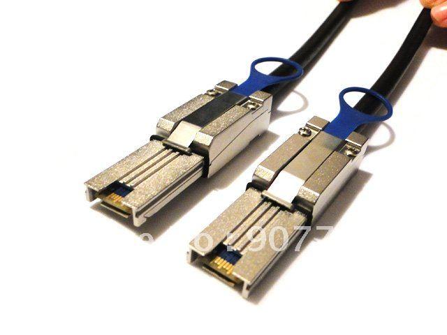 External Mini SAS 4x SFF-8088 to SFF-8088 26P Cable 1m(China (Mainland))