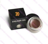 30 color to choose  free shipping  Water Proof Eye liner Gel  Shimmer Chocolate #20