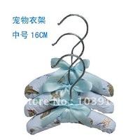 60PCS/LOT M Size16cm Pet Clothes Hangers/ Dog Clothes Hanger + Free Shipping