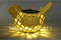 Ceramic Solar Night Light, Living Colors Light, Cute and Novelty Night Light, Decoration Light