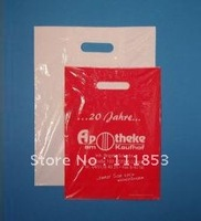 Retail and wholesales plastic bag,Custom order accepted!Quality guaranteed punch hole bags for promotion. 20*30*0.014cm