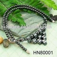 [  ] Hematite Necklace, Magnetic Necklace, Hematite Magnetic Necklace (HN80001)