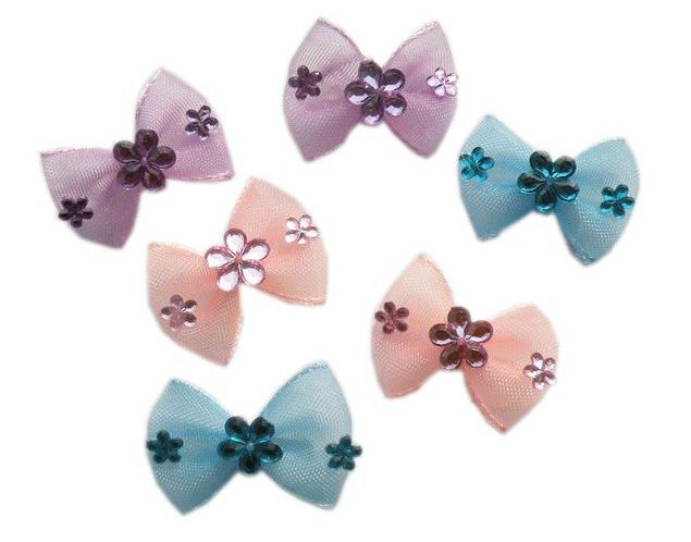 Wholesale Pet Supplies Product Handmade Dog Hair Bows Lace Bows Doggie