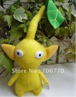 New lots /10 pcs   New Pikmin Yellow with Flower Plush Figure Doll Toy Free Shipping