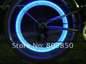 led car light,sport light.free shipping 5 color on sale LED Flash Tyre Wheel Valve Cap Light