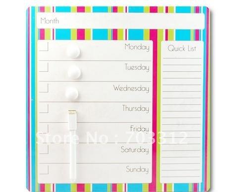 Achetez en gros calendrier tableau magn tique en ligne des grossistes calen - Aimant tableau magnetique ...
