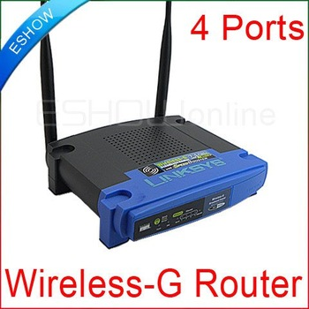 10pcs WiFi Wireless-G Broadband Router 54Mbps 2 Antennas 4 Ports D2082L WRT54GL Eshow