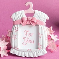 FREE SHIPPING+Best Selling Cute baby themed photo frame favors - girl+120pcs/LOT