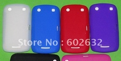 10pcs free shipping Silicone Skin Cover Case for BlackBerry Curve 9380(China (Mainland))