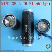 UltraFire UF-2100 CREE XM-L T6 High Power Mini LED Flashlight with Strip, Lanyard