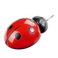 Ladybug Shaped Optical Computer Mouse