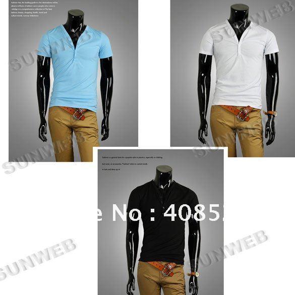 Men's Comfort Shirts Slim Casual Fit Short Sleeve T-Shirt ,Polo shirt ...