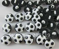 NB001 fashion black t shirt buttons football shape 13mm 200pcs shank buttons for craft free shipping