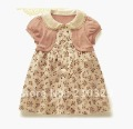 2012 New Summer  Kids Dress, Baby Skirt, Children Dress,Baby Wear, Children's Clothes 4pcs/lot Free shipping