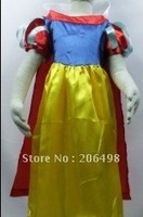 kid Role-playing Snow White princess masque clothing,girl snow white princess cosplay,Girl dress,Free freight