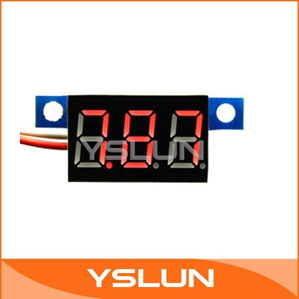 Вольтметр Digital voltmeter 20 /3.3/30v #090734 3.3-30V digital voltmeter
