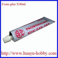 Foam glue X40ml for RC plane EPS /EPO /EPP