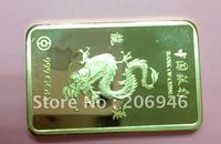 Товары для ручных поделок Southkingze s 20Pcs/Lot 24K Bullion 100009
