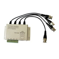 4 CH Passive video balun for CCTV Security Surveillance