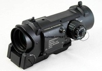 Black DR Quick Release SpecterDR Copy 1X / 4X Red Dot Rifle Scope free ship