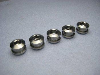 Titanium Single speed Fixed Gear Track Chainring Bolts x 10pcs/lot