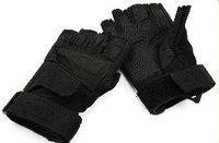Black Hawk Tactical Duty Gloves Black Half  finger free ship