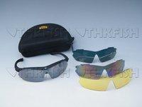 1SET LOT Bike Bicycle Cycling Glasses Sunglasses 4 color lens Sport  Cycling Bike 4 color glass Sunglasses Glasses