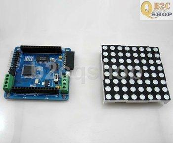 Electronic Project Starter Kit 8 X 8 mágico colorido RGB LED Dot Matrix Colorduino Kit Display
