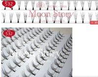 free shipping, wholesale New 10 pairs/1 lot  thick long eyelashes/handmade Medical fiber false eyelashes  no.532