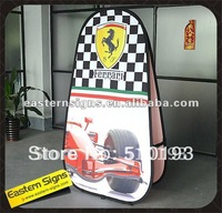 125x200cm Collapsible Vertical A Frame Banner Stand