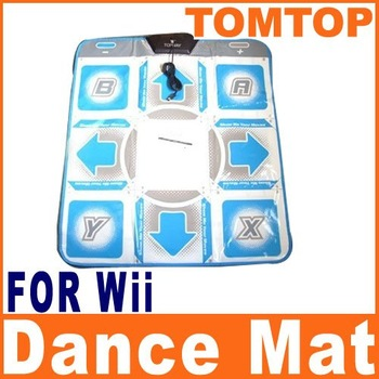 DDR Dance Dance Revolution Pad Mat For Hottest Party Wii GAME029   Free Shipping Dropshipping Wholesale
