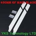 430mm Glass Fiber Main Blade For Trex 500 RC helicopter free shipping --D410