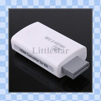 Newest! HDMI 720P/1080P HD Output Upscaling Converter Adapter for Wii freeshipping dropshipping