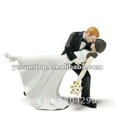 Tango dancing couple figurine wedding cake toppers wedding favors Free shippping