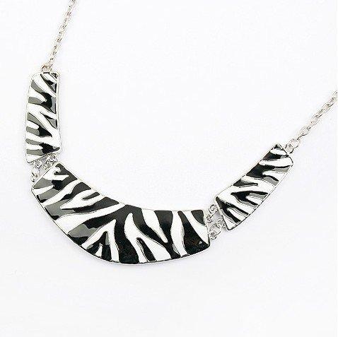 Zebra necklace jewelry...