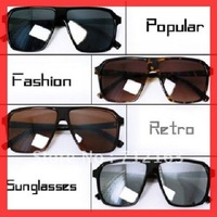 Free Shipping $2.20 Cheap Mens sunglasses~2012 Retro Sunglasses popular style with refective lens in 4colors 10pcs/lot RT427