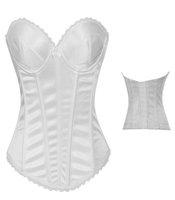 Fashion Hot Sexy New Nightwear/Corsets Outfit / Sets Female royal bra shaper shapewear  black white
